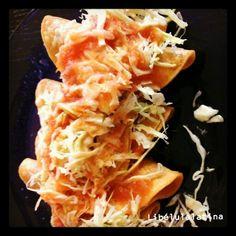 Éstos son los tacos Dorados en México. #tacosdorados #mexicana