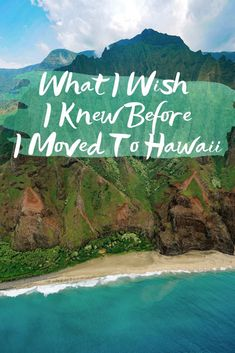 10 Things I Wish I Knew Before I Moved To Hawaii - Sharing 10 things I wish I would have known before I packed up my life and headed for the Pacific! Ways To Travel, Best Places To Travel, Places To Visit, Hawaii Travel Guide, Moving To Hawaii, Hawaii Life, Travel Humor, I Wish I Knew, Hawaiian Islands