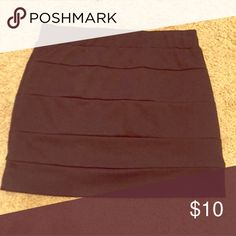 Black Bandeau Skirt Boutique bought! Worn a couple of times and in great condition! Size M and true to size, very form fitting! Skirts Mini