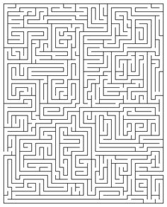 Printable Maze Puzzles for Adults Maze Puzzles, Word Puzzles, Printable Puzzles, Printables, Hard Mazes, Brain Games For Adults, Maze Worksheet, Sudoku, Maze Game