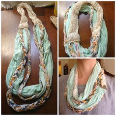 Spring Scarf Tutorials: Part I - Little Did You Know