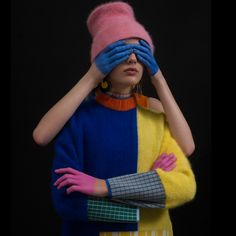 10 of the most innovative graduate designs of 2017 Mode Inspiration, Color Inspiration, Textiles, 3d Foto, Photographie Portrait Inspiration, Shirt Designs, Knitwear Fashion, Wedding Art, Mode Style