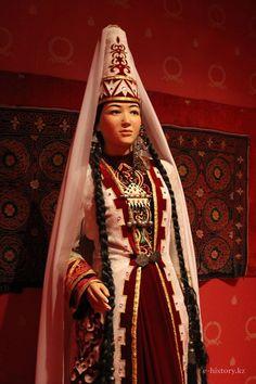 Kazakh traditional dress.
