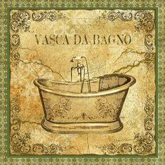 Vintage Vasca da Bagno (Jean Plout)