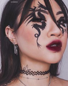 makeup ideas halloween makeup ideas makeup ideas makeup ideas skull makeup ideas ideas ideas eyeshadow makeup ideas for halloween Makeup Eye Looks, Creative Makeup Looks, Crazy Makeup, Pretty Makeup, Cute Makeup Looks, Sleek Makeup, Natural Makeup, Eyeshadow Makeup, Hair Makeup