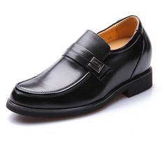 Black  | Brown  height increasing shoes uk 8cm / 3.15inch with the SKU:MENZGL_6A01 - New business elevator dress shoes that increase height 3.15inches / 8cm men taller shoes