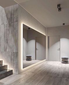 Home Interior Cuadros Modern Home Interior Design, Dream House Interior, Dream Home Design, Modern House Design, Interior Architecture, Dance Rooms, House Rooms, New Homes, Dance Studio Design