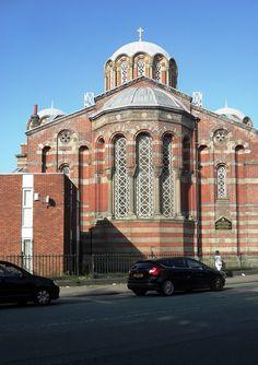 Greek Orthodox Church, Princes Road, Toxteth, Liverpool.