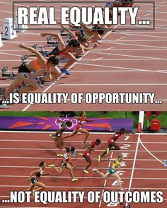 """An equality of opportunity is not as broad as we may think either. """"Privilege"""" has nothing to do with it. Wisdom Quotes, Life Quotes, Reality Quotes, Great Quotes, Inspirational Quotes, Awesome Quotes, Poesia Visual, Pseudo Science, Political Quotes"""