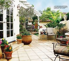 Image detail for -... finish off your mediterranean garden with a layer of gravel mulch