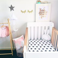 On instagram by lepetitcircle #homedesign #contratahotel (o) http://ift.tt/1VL26it yet sweet girl's nursery via @luluandlo