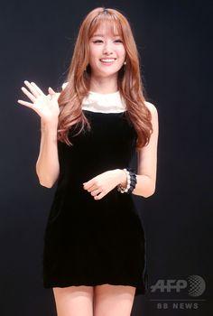韓国・ソウル(Seoul)で、ソロデビューアルバム「25」の発売記念イベントに臨む、ガールズグループ「シークレット(Secret)」のソン・ジウン(Song Ji-Eun、2014年10月14日撮影)。(c)STARNEWS ▼17Oct2014AFP|シークレットのソン・ジウン、ソロデビューでイベント開催 http://www.afpbb.com/articles/-/3029121 #Secret_Song_Ji_Eun