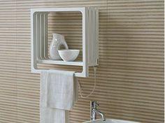 Wall-mounted towel warmer MONTECARLO   Towel warmer