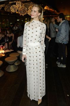 Slightly in love with this dress Poppy Delevingne rocked this weekend! http://www.cosmopolitan.co.uk/fashion/celebrity/news/a31581/poppy-delevingnes-black-vs-white-outfit-triumphs-this-week/