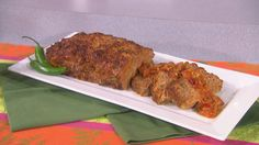 Talk Food Festival: Marcela Valladolid - The Talk - CBS.com    Mexican Meatloaf