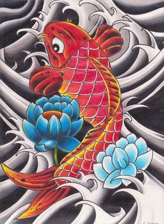 koi tattoo meaning | Tattoo Ideas KOI