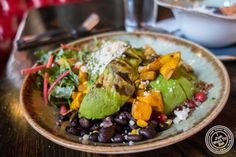 """Vegetarian tacos """"naked"""" at Dos Caminos Meat Packing District in NYC, New York"""