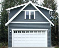 simple double door design with good measurements. Want to change the windows on side. simple double door design with good measurements. Want to change the windows on side. Garage Apartment Plans, Garage Apartments, Shed Plans, House Plans, Garage To Living Space, Living Spaces, Double Door Design, Garage Addition, Garage Studio