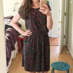 yay! summer dress weather today!!! wearing a @grainlinestudio #HemlockTee modified to a dress ☀️☀️☀️#mmmay16 #isew #handmadewardrobe