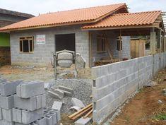 Casa de blocos de concreto