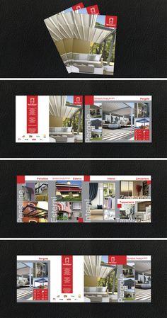 Impostazione grafica e stampa di una brochure A5 a 4 ante su carta patinata da 250 gr Brochure