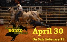 The Southeastern Rodeo Association Black Rodeo is coming to Greenville, SC. on Saturday, April 30, 2016! Tickets go on sale Friday, February 19!  The rodeo has been a favorite pastime of families for decades. This one will feature professional cowboys performing phenomenal feats of skill as they compete for prize money, in categories such as bull riding, steer wrestling, bare back riding, calf roping, team roping, and barrel racing.