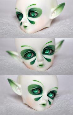 Résultats de recherche d'images pour « as makeup wings to bjd tutorial Makeup Wings, Porcelain Doll Makeup, Doll Painting, Doll Repaint, Aesthetic Makeup, Ooak Dolls, Custom Dolls, Ball Jointed Dolls, Doll Face