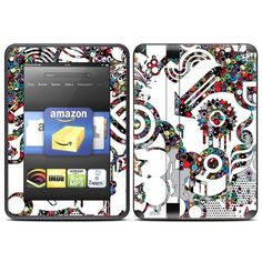 Dots Design Protective Decal Skin Sticker for Amazon Kindle Fire HD 7 inch eBook Reader by MyGift. $19.99