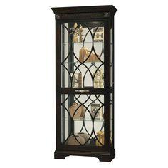 Howard Miller 680499 Roslyn Curio Cabinet at ATG Stores