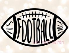 It's Football Y'll SVG, football svg, football dad svg, southern football svg, football mom svg, kids football svg, football shirt, cute svg by WestTexasWhimsy on Etsy