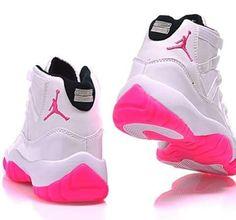 ded62007ebd77d 2015 Air Jordan 11 GS White - womens black shoes on sale