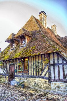 Beuvron-en-Auge, Normandy