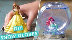 DIY Disney Princess Snow Globes | Nailed It - YouTube