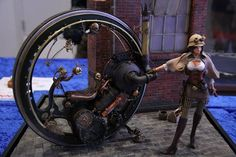 Nice work. Nice background and base as well. STEAMPUNK!