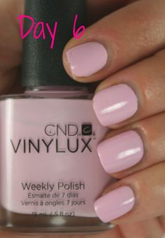 CND Vinylux Cake Pop- Day 6!! THIS WOULD LOOK GOOD WITH A BRONZEY-GOLD PARTY FINGER.