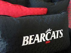 UC Bearcats pillows