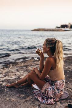 at the beach. △@BIBIJOUX