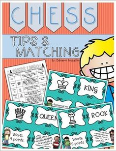 Free printable chess awards and certificates chess pinterest chess tip sheet and matching game to help beginners learn the chess pieces yelopaper Images