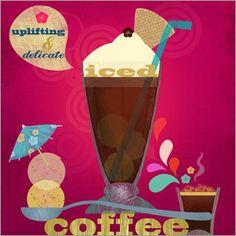 Elisandra Sevenstar - iced coffee