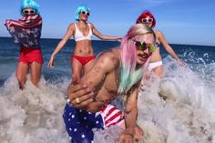 """James Franco Stars as RiFF RaFF in """"Only In America"""" Music Video"""