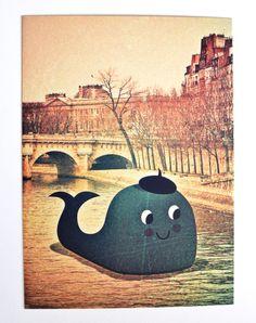 #Cards Friends in #Paris by #Ingela P #Arrhenius  from www.kidsdinge.com https://www.facebook.com/pages/kidsdingecom-Origineel-speelgoed-hebbedingen-voor-hippe-kids/160122710686387?sk=wall