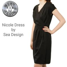 Nicole Dress by Sea Design Henri Lloyd, Uniform Dress, Sperrys, Wrap Dress, Sea, Lady, How To Wear, Dresses, Design