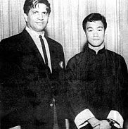 Ed Parker and Bruce Lee