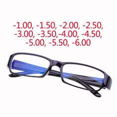 Myopia Spectacles Eyeglasses -1.0 to -6.0 With Blue Coating Anti-Radiation Prescription Myopia Lens Optical Eye Glasses Frames. Free Shipping Delivery Worldwide. 1. Buyers Please note that this product free shipping logistics approach can not be tracked.2. The spherical lens has a distorted phenomenon at the edge of the field of vision. With the increase in …