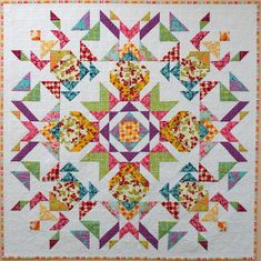 Sampaguita Quilts: Parterre in Homespun 87