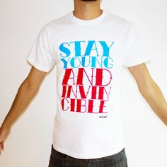"""Stay young"" tee"
