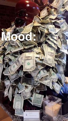 Discovered by Nuru Angie. Find images and videos on We Heart It - the app to get lost in what you love. Money Girl, Mo Money, Ways To Get Money, Money On My Mind, Money Pictures, Money Stacks, Money Affirmations, Mood Pics, Life Goals
