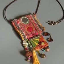 Resultado de imagen de textile jewelry