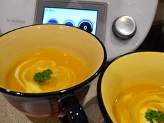 Recipe Best Ever Pumpkin Soup by ShellG, learn to make this recipe easily in your kitchen machine and discover other Thermomix recipes in Soups. Thermomix Soup, Soup Recipes, Dinner Recipes, Cooking Recipes, Radish Recipes, Gnocchi Recipes, Dinner Ideas, Paleo Recipes, Soups