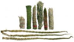 Smudge sticks and Sweetgrass